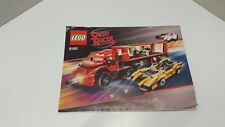 Lego!!! instructions ONLY!!! for Speed Racer 8160