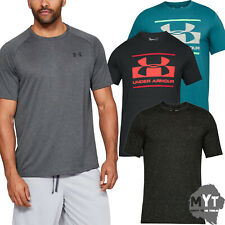 c5c491a73 Under Armour ® Mens T-shirt Ua Blocked Sportstyle Logo Charged Cotton