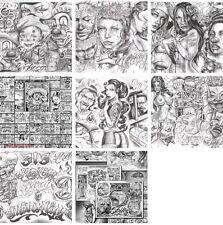 Tattoovorlagen  Motive Boog Tattoo Flash Neu CD  chicano style Top + Bonus