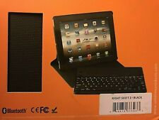 Built-in-Battery iPad Ipad2 Case Cover Removeable Keyboard Rightshift 2 Blk NEW