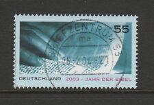 Allemagne année 2003 de la Bible SG 3197 fu