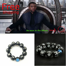 Bracelet Collection Wakanda ForeverT'ChallaCospl ay Us! Black Panther Kimoyo Bead