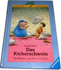 Ingrid Uebe / Hans de Beer ▬ Das Kicherschwein ▬ Ravensburger Buch gebunden