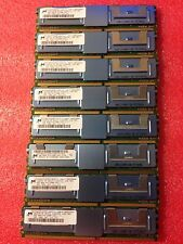MICRON 32 (8x4GB) PC2-5300F 2rx4 MT36HTF51272FY-667E1D4  REG SERVER MEMORY 1 yea