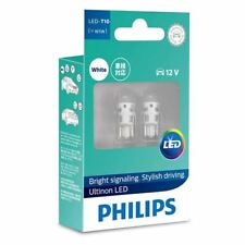 Philips Ultinon LED T10 W5W 12V 6000K Interior Lamps 11961ULWX2 Twin Pack