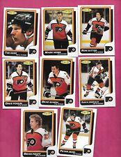 1986-87 OPC PHILADELPHIA FLYERS   CARD LOT (INV# C2030)