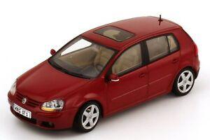 Autoart 59772 VW Golf Red Spice Metallic 1/43 Scale Die-cast Model Car
