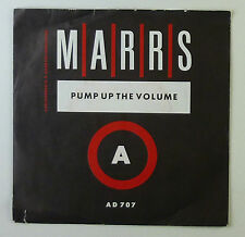 """7"""" Single - Marris - Pump Up The Volume - S757 - washed & cleaned"""