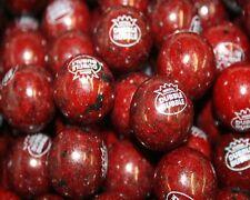 Dubble Bubble BLACK CHERRY Gumballs 2lbs Approximately 55 Gum Balls Per Pound