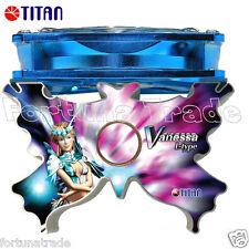 Titan Vanessa CPU Kühler Leise TTC-NK25TB/SC(RB) AMD AM3 INTEL I3 I5 I7 u.v.m