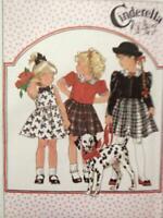 Simplicity Sewing Pattern 8769 Cinderella Dress and Jacket Size 3-5 Uncut