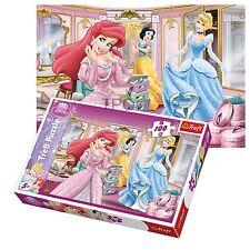 Trefl 100 Piece Kids Girls Disney Pricesses Cinderella Snow White Jigsaw Puzzle
