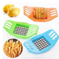 Stainless Steel Potato Cutter Slicer Chopper Kitchen Cooking Tools Gadgets DIY