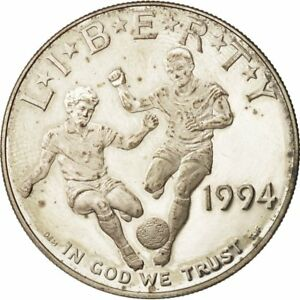 [#48568] United States, Dollar, 1994, Soccer World Cup, Silver, KM:247