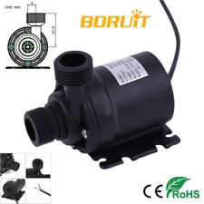 Ultra Quiet Mini DC 12V IP68 800L/H Brushless Motor Submersible Water Pump 19W