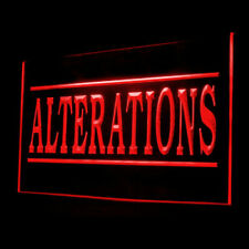 190066 Alterations Services Dry Clean Sophisticated Display Led Light Sign