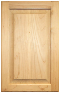 Unfinished Red Oak Raised Panel Cabinet Doors & Drawer Fronts