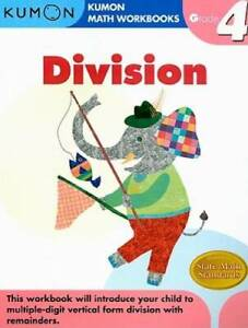 Grade 4 Division (Kumon Math Workbooks) - Paperback By Kumon Publishing - GOOD