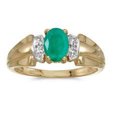 Emerald 10k Fine Rings