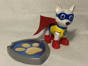 Rare Paw patrol Apollo super pup figure with cape (43)