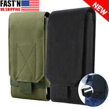 New listing Tactical Belt Pack Bag for Cell Phone Molle Waist Pouch Holster Case Universal
