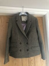 Jack Wills Tweed Herringbone Blazer Jacket Size 12