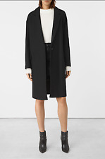 "ALL SAINTS ""XS"" FITS UK 8 -10 SANCIA NESI OVERSIZED BOYFRIEND ITALIAN WOOL COAT"