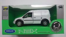 WELLY FORD TRANSIT CONNECT WHITE 1:34 DIE CAST METAL MODEL NEW IN BOX