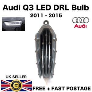 Genuine Audi Q3 Pre-FaceLift Headlight LED DRL Bulb Module Unit 8R 2011-2015