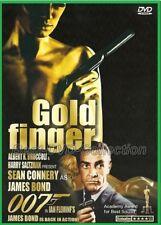 Goldfinger 007 (1964) - James Bond, Sean Connery, Gert Fröbe - DVD NEW