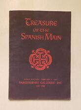 Treasure of the Spanish Main, Parke-Bernet 1967, Treasure Auction Catalog