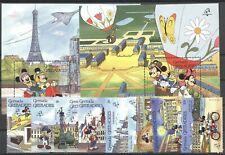 Walt Disney, Philexfrance - Grenada Grenadinen - 1171-1178, Bl.170-171 ** MNH