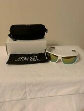 NEW Zeal Optics RANGE 10893 Sunglasses White Frame Copper+Gold Lens