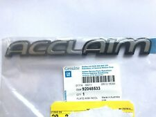 HOLDEN VR VS SERIES 1 COMMODORE ' ACCLAIM ' WAGON TAILGATE BADGE NEW GENUINE GM