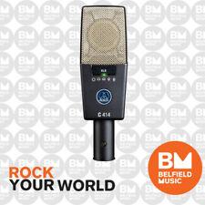 AKG C414XLS Condenser Microphone Studio Multipattern Condensor Mic C414-XLS - BM