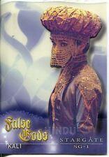 Stargate SG1 Season 5 False Gods Acetate Chase Card F6