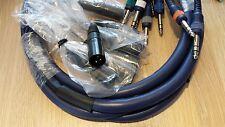 Cable 8 xstereo 6,3mm/8x XLR macho 3m ORIG. DAP 2781