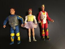 Vintage Orig Ghostbusters Action Figures Ray, Egon & Janine-Excellent Cond-Last