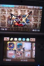 Nintendo 3 DS LL XL console di gioco Tomodachi collezione con 3 giochi installati *