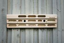 RokWallaby Wooden Hangboard, Finger board, Grip Strength Climbing