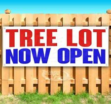 Tree Lot Now Open Advertising Vinyl Banner Flag Sign Many Sizes