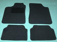 Passform-Velours-Fußmatten für Audi 80 Autoteppiche in schwarz