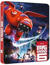 Big Hero 6 SteelBook Blu Ray Blu-ray Disney