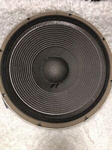 "1 - JBL 2225 J WOOFER SPEAKER 15"""