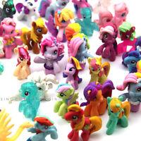 "Random 10pcs MLP Cute PONY Friendship is magic 2"" Figure cake topper toys"