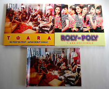 T-ARA lot of 2 JAPAN Maxi CD Sg w/DVD L/E Bo Peep Bo Peep Roly-Poly with Card