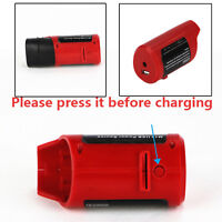 Milwaukee M12 49-24-2310 48-59-1201 Portable Power Source Batterie Ladegerät USB