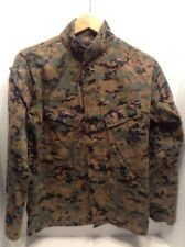 American Apparel Inc. USMC Woodland Digital Camo Shirt  32 Short