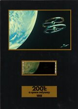 """2001 A SPACE ODYSSEY Science Fiction 5"""" x 7"""" SENITYPE FILM CELL and MOVIE PHOTO"""
