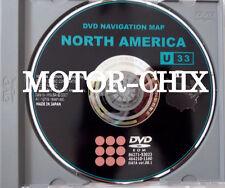 U33 8.1 Lexus Navigation DVD 2007 2008 2009 ES350 GX470 IS250 IS350 RX350 GS350